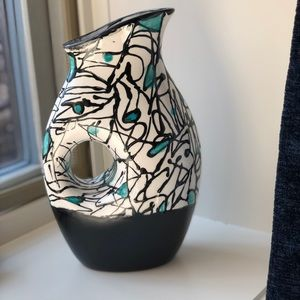 Hand Painted Decorative Vase